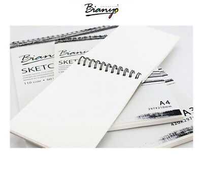 2 Pack A3/A4/A5 Sketch Pad Book 110 GSM/60 Sheets