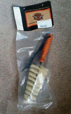 OFICCIAL Harley Davidson Brush Wheel & Spoke Brush Tyre Cleaner *NEW*