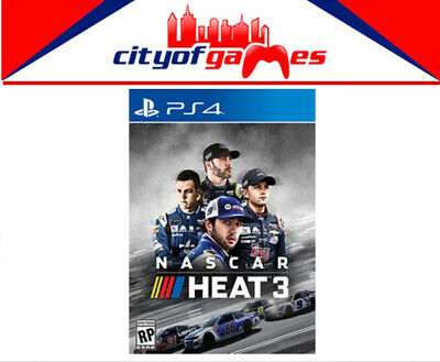 NASCAR Heat 3 PS4 Game Brand New & Sealed In Stock