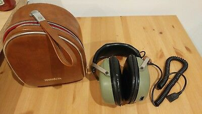 Vintage collectable Howland-West CIS-2000 8 Ohms Stereo Headphones