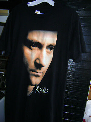 Lot of 4 Vintage 1990s Genesis-Phil Collins-Peter Gabriel Tour T-shirts