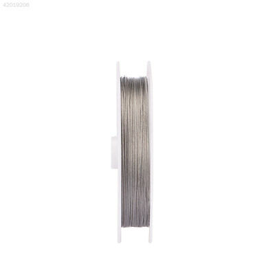 1598 10m Steel Cord For Fishing Rope Anti Bite Outdoor Leader Line Variety Size