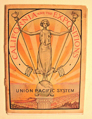 1915 CALIFORNIA and the EXPOSITION, Union Pacific, Pan-Pacific Expo 64 page BOOK