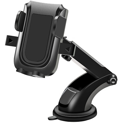 Car Phone Mount, Mobile Holder for Car Windshield Washable for smartphone NEW US