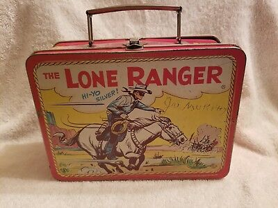 Vintage Lone Ranger lunch box