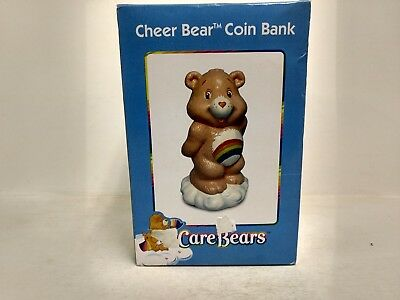 Cheer Bear Care Bears Ceramic Coin Bank Tri-Star 2003 t1608