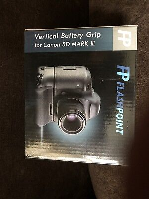 Flashpoint Vertical Battery Grip for Canon 5D Mark III. New