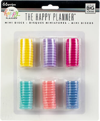 Happy Planner Mini Disc Value Pack 66/Pkg-Multi Color