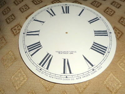 "For American Clocks- Round New Haven Paper Clock Dial-6"" M/T- Roman-Clock Parts*"
