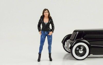 Cool Girl Rose Figur Figuren Street Racing Crew 1:18 American Diorama no car