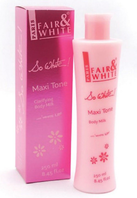 Fair And White So White Lightening & Skin Brightening Maxi Tone Body Milk 250ml