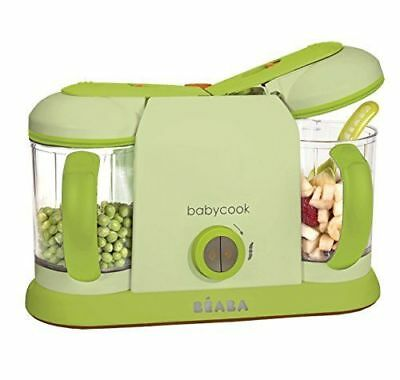 Beaba BabyCook Pro 2X 4 in 1 Baby Food Maker Steam Blend Defrost Reheat 912333