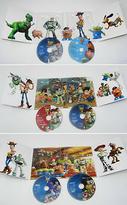 Toy Story 1+2+3 Trilogy Blu ray Digipack Set - Like New   SALE!!