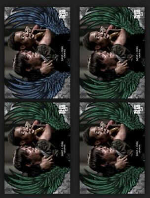 Noah & Daryl-Guardian Angels-Blue+3 Green-Wave 1-Topps Walking Dead Card Trader