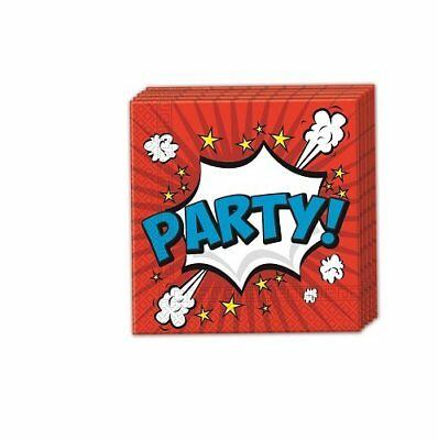 Boom Party Two-ply Paper Napkins 33x33cm (G6i)