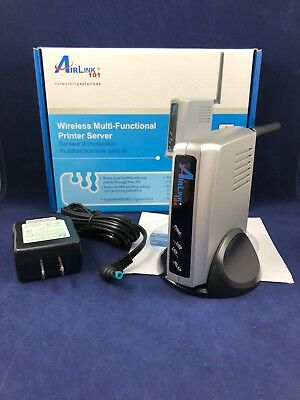 Airlink 101 AMPS240W 1 Port Wireless Multi-Functional Printer Server