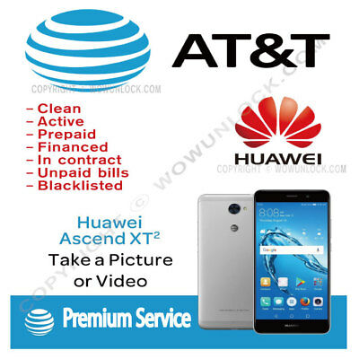 AT&T Unlock Code Service Huawei Ascend XT2 H1711 MATE 10
