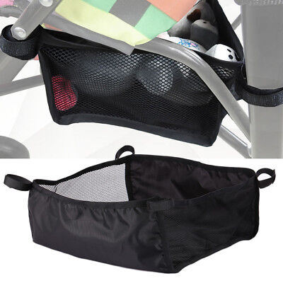 DE2C Baby Pram Universal Bottom Basket Storage Bag for Pushchair Stroller Buggy