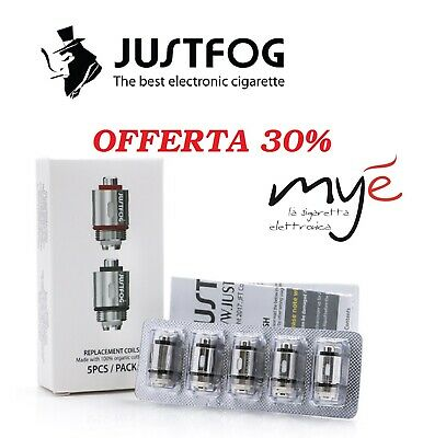 Resistenze coil Justfog Q16 Q16Pro  1.6 ohm 1.2  ohm (P16 P14 Q14) 100% Italia