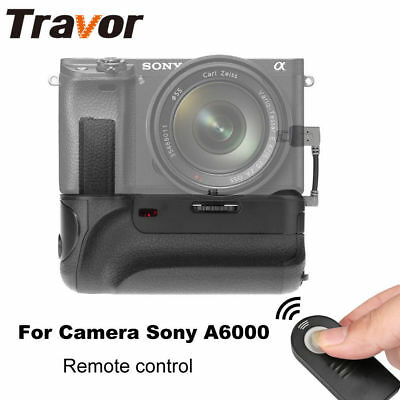 Battery Grip Holder Pack fr SONY A6000 DSLR Camera With Infrared Remote Control