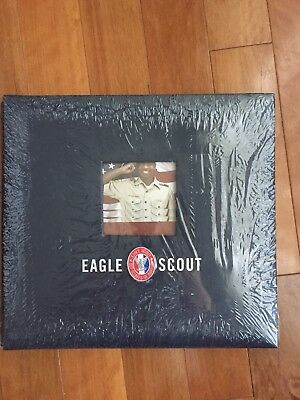 Eagle Scout Scrapbook Bsa Rare Boy Scouts Of America 12x12 Emblem