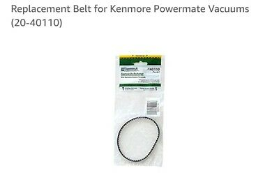 Replacement Belt for Kenmore Powermate Vacuums 20-40110