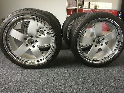 Hsv Madina Forged 20Inch Wheels & Tyres Genuine 3 Piece Rims Billets Simmons