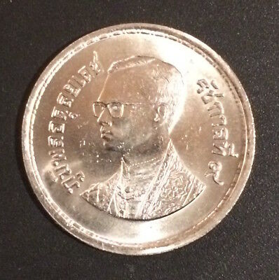 Thailand Coin 10 Baht BE 2526 (1983) 100 Year Thai Post Office low mintage UNC.