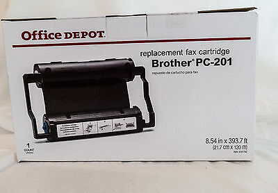 Brother Fax Cartridge  PC-201 Intelli Fax New Factory Sealed Office Depot