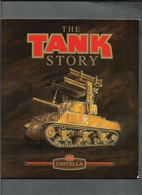 Album  Set 30 The Tank Story By Wd & Ho Wills Castella Cigarette Cards