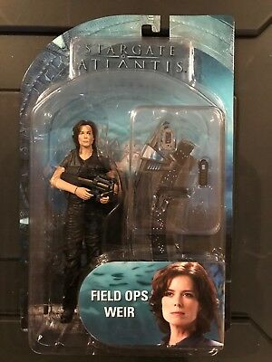 Stargate Atlantis Diamond Select Series 1-  Field Ops Weir NEW RARE