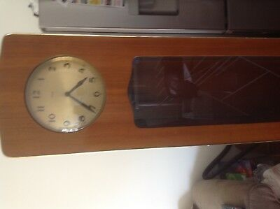 Antique Grandfather Clock over 100 years old complete with weights and chimes