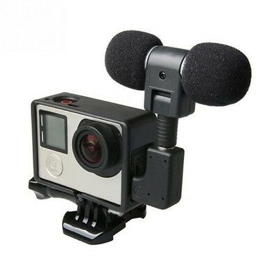 Mini Stereo Microphone for GoPro 3, 3+ & 4 - Sold From Australia