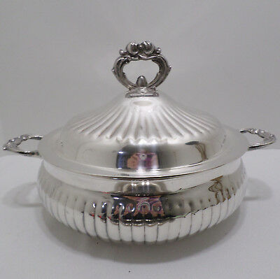 Vintage Soup Tureen Silver Plated by Leonard