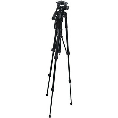 Vivitar VIV-VPT-2457 Tripod 3 Way Fluid-effect Pan Head- 57""