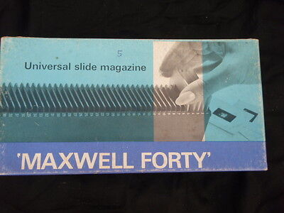Maxwell Forty Universal Slide Magazine in Box