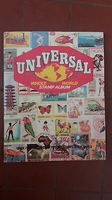 Seven Seas Stamps Universal Whole World Stamp Album 1972