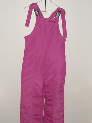 HOT SNO 30 Below Lady's Pink Ski Pants--Size: 14--AS NEW Condition.