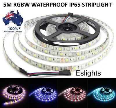5M 12V Rgbw 5050 Ip65 Flexible Waterproof Led Strip Light Party Xmas