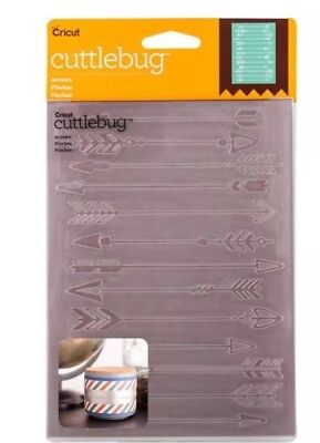 Embossing Folder! 1 Pc Cuttlebug 'Arrows' ***Free Postage**