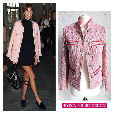 Size Coat Xs Boucle Zara Fantasy 36 Uk Blazer Eu Jacket 8 Tweed AIZnqxwY