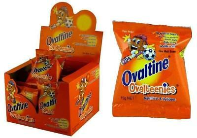 24 x 15g OVALTINE OVALTEENIES SACHETS  - CHOC MALT TREATS