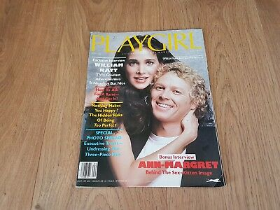 Playgirl 1982, Entertainment for Women, William Katt and Connie Sellecca