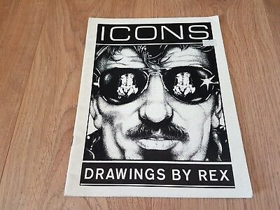 ICONS, Drawings by Rex 1979,  Tom of Finland
