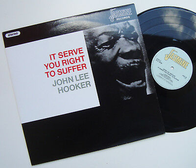 LP - JOHN LEE HOOKER - It Serve You Right To Suffer - Jasmine Rec. JAS 74