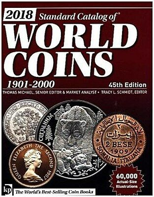 2018 Standard Catalog of World Coins 1901-2000 Thomas Michael