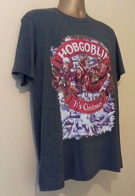 Hobgoblin Rare  Its  Christmas   Green T Shirt Size Large Wychwood Brewery 4dfe1bfb2