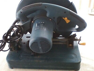 GMC 355mm metal cut off saw 2200 watt with cutting disc work very good condition