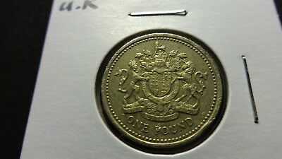 UK Great Britain  2003 One Pound  coin