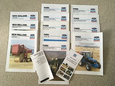 Ford / New Holland Tractor / Machinery Leaflets
